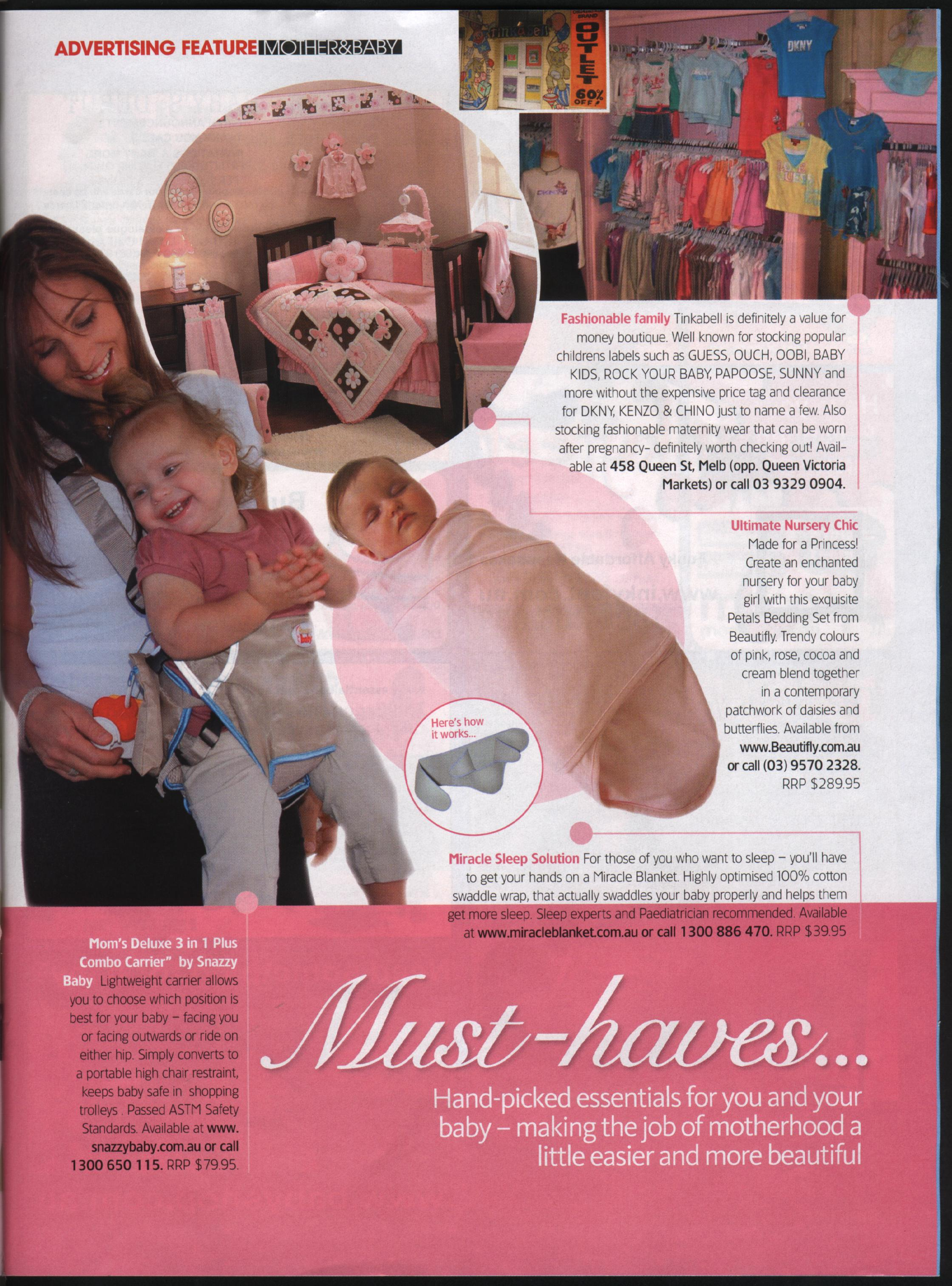 Snazzy Baby on Mother & Baby Magazine