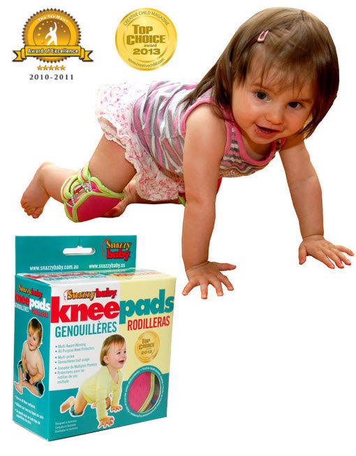 Award Winning Snazzy Baby Knee Pads