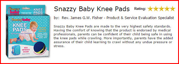 Baby Knee Pads Review by The Toy Man